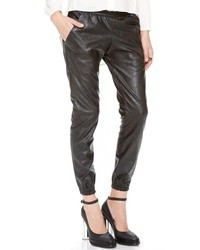 Faux leather sweatpants medium 11248