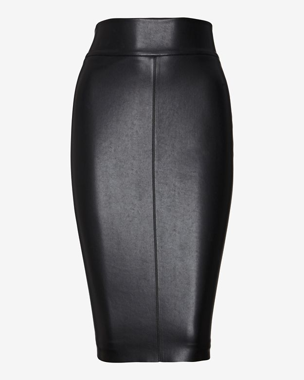 bailey 44 leather like pencil skirt where to buy how