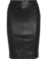 Joseph Claire Nappa Leather Pencil Skirt