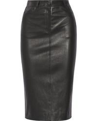 Joseph Clan Leather Pencil Skirt