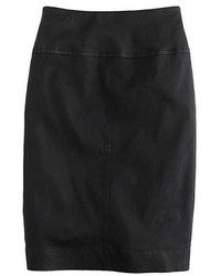 J.Crew Collection Stretch Leather Pencil Skirt