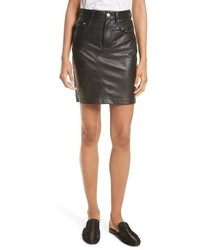 Dive leather pencil skirt medium 4343604
