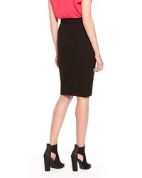 b746419a6345a ... DKNY Perforated Leather Pencil Skirt ...
