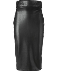 Ermanno Scervino Faux Leather Pencil Skirt