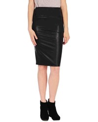 RD Style Faux Leather Pencil Skirt
