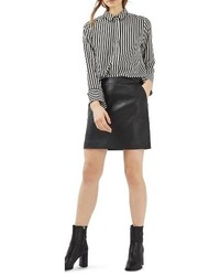 Faux leather pencil skirt medium 4470856