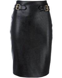 Moschino Leather Look Pencil Skirt