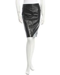 Loewe Leather Skirt