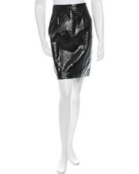 Salvatore Ferragamo Leather Skirt