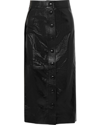 Givenchy Patent Leather Midi Skirt