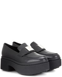 Opening Ceremony Agness Platform Leather Loafers