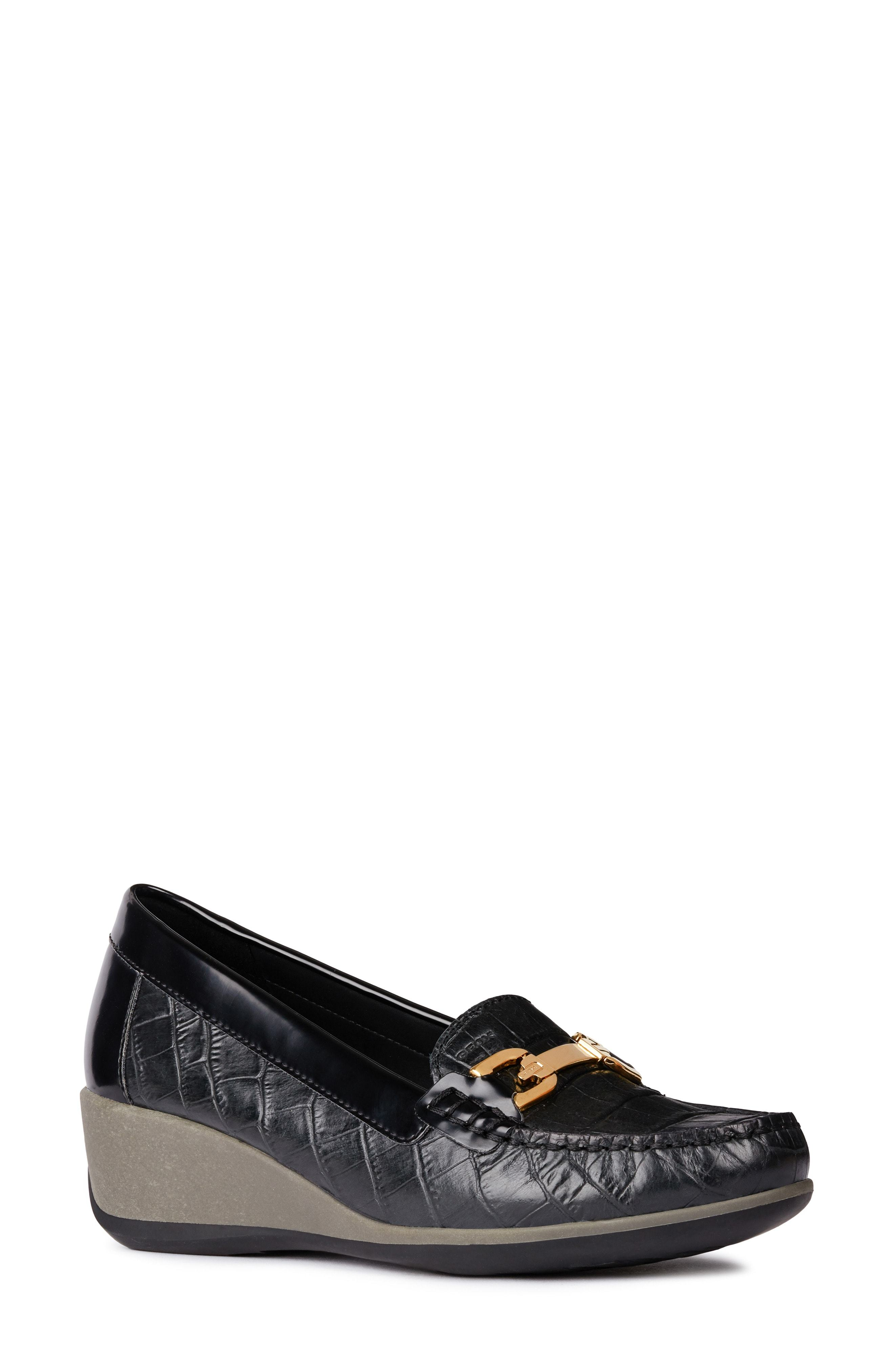 Geox Arethea Loafer Wedge