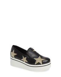Stella McCartney Binx Stars Slip On Platform Sneaker