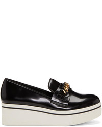 Stella McCartney Black Binx Chain Platform Loafers