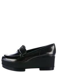Robert Clergerie Leather Platform Loafers W Tags