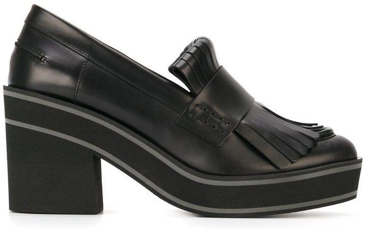 78f4b86fec4 ... Paloma Barceló Chunky Heel Platform Loafers