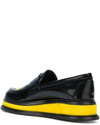 Joshua Sanders Platform Loafers With Print