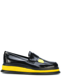Joshua Sanders Platform Loafers With Print
