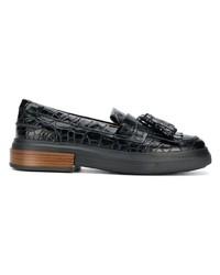 Tod's Tassel Flatform Loafers