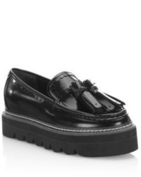 See by Chloe Zina Leather Platform Loafers