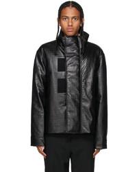 Givenchy Black D Logo Biker Jacket