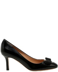 Salvatore Ferragamo 70mm Erice Brushed Leather Pumps