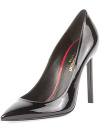 Saint Laurent Anja 105mm Patent Leather Pump