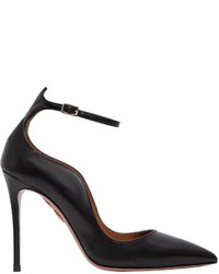 Aquazzura 105mm Dolce Vita Leather Pumps