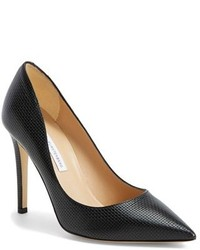 Diane von Furstenberg Bethany Leather Pointy Toe Pump