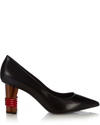 Balenciaga Bistrot Leather Pumps