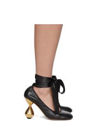Loewe Black Ballerina 90 Heels
