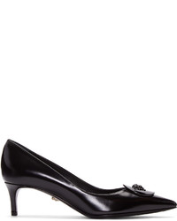 Versace Black Medusa Heels