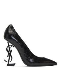 Saint Laurent Black Opyum 110 Heels