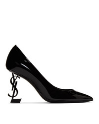 Saint Laurent Black Opyum 85 Heels