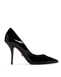 Dolce And Gabbana Black Patent Kate Heels