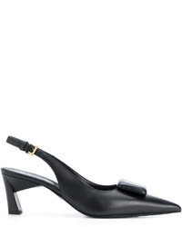 Marni Button Slingback Pumps