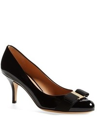 Salvatore Ferragamo Carla Patent Leather Pump