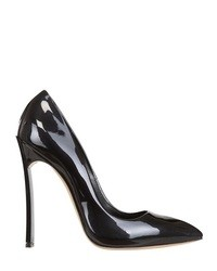 Casadei 120mm Patent Leather Blade One Pumps