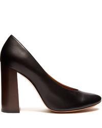 Chloé Chlo Harper Block Heel Leather Pumps