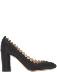 Chloé 90mm Lauren Nappa Leather Pumps