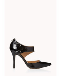 Forever 21 City Chic Faux Leather Pumps