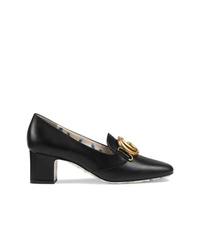 Gucci Double G Decorated Mid Heel Pumps