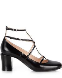 Fendi Mary Jane Leather Pumps