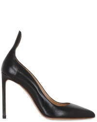 Francesco Russo 105mm Leather Pumps
