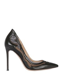 Gianvito Rossi 100mm Mesh Leather