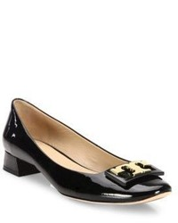 Tory Burch Gigi Patent Leather Block Heel Pumps