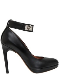 Givenchy 110mm Shark Lock Leather Pumps