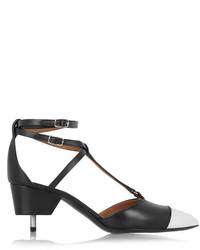 Givenchy Maremma Leather Point Toe Pumps Black
