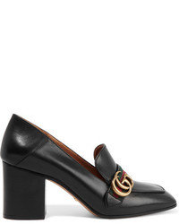 Gucci Leather Pumps Black