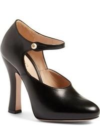 Gucci Lesley Ankle Strap Pump